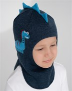 Milli шлем Дракоша, на хлопке (на 1 год) демисезонный