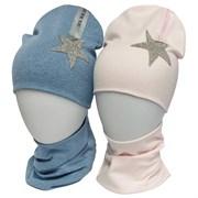 LAMIR комплект Муза шапка двойной трикотаж + снуд (р.52-54)