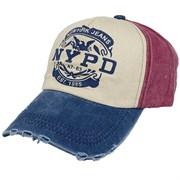 бейсболка джинсовая (р.58-60) NYPD