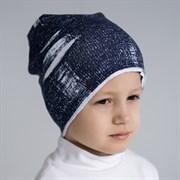 ambra шапка двойной трикотаж надрезы (р.52-54)