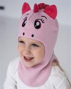 Milli шлем модель Единорог, на хлопке (на 1 год) демисезонный