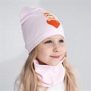 Milli комплект 18-607 k шапка одинарный трикотаж + снуд (р.50-54)