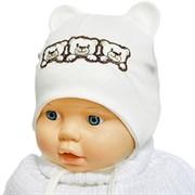 Milli модель 3 медведя шапка одинарный трикотаж (р.38-40)