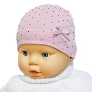 Milli модель стразы шапка одинарный трикотаж (р.38-40)