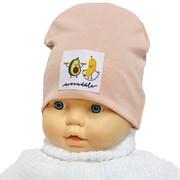 Milli модель Авокадо шапка одинарный трикотаж (р.44-46)