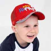 Milli бейсболка детская BoyHappy (р.50-52) с сеткой