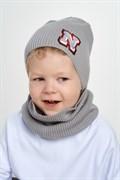 Nikola (Pompona) комплект из вязаной шапки и снуда 20 V 113к (р.50-54)
