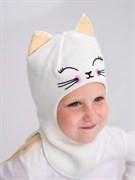 Milli шапка-шлем Злата, на хлопке (на 1 год) демисезонный