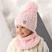 .AJS комплект 42-425 шапка, подклад флис + снуд (р.48-50)