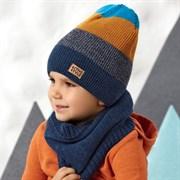 .AJS шапка 42-552 двойная вязка (р.54-56)