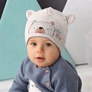 .AJS шапка 42-443 двойная вязка (р.48-50)