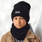 .AJS шапка 42-590 двойная вязка (р.54-56)