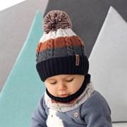 .AJS комплект 42-445 шапка, подклад флис + снуд (р.48-50)