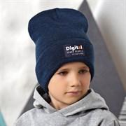 .AJS шапка 42-583 двойная вязка (р.54-56)