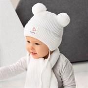 .AJS комплект 42-403 шапка, подклад флис +шарф (р.40-42)