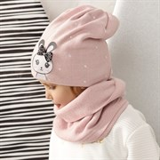 .AJS комплект 42-457 шапка двойная вязка + снуд (р.48-50)