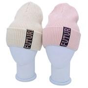 Pompona  шапка 21 Z P 12 одинарная вязка (р.54-56)