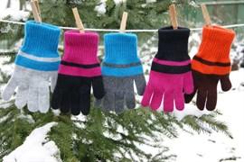 margot перчатки BIG LAURA одинарная вязка (размер 16)