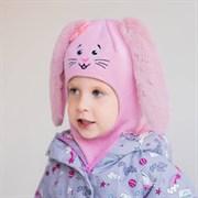Milli шлем модель Зайчик, на  утеплителе (на 2 года) зима