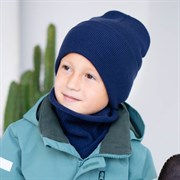 Milli комплект Tommy шапка двойная вязка + снуд  (р.54-58)