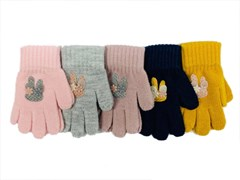 Теплыши перчатки TG-451 одинарная вязка (р.13/3-4 года)