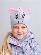 Milli шлем модель Единорог, на утеплителе (на 2 года) зима