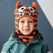 Milli шапка-шлем Зубастик, на утеплителе (на 1 год) зима