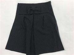 юбка BoysGirls черная в мелкую полоску (р.128-152)