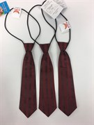 галстук бордо 24см
