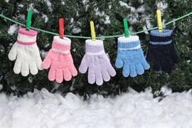 margot перчатки PUCHATKI одинарная вязка букле (размер 14)