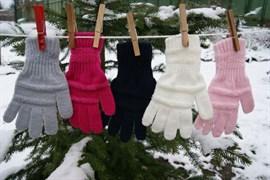 margot перчатки ANGEL одинарная вязка (размер 15)