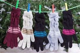 margot перчатки FOKAJA одинарная вязка (размер 16)