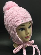 NAOMI шапка для девочки подкл.флис (р.52-54)