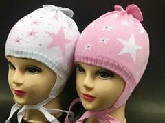 Barbaras модель BM 141/C шапка для девочки подкл.хлопок (р.50-54)