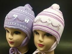 AGBO шапка двойн.вязка (р.48-50)