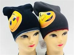 ambra шапка двойн.трикотаж смайл (р.52-54)