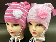 Hilltop шапка C-035 двойная вязка (р.52-54)