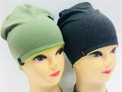 Margot Bis шапка 8931 двойной трикотаж (р.52-54)