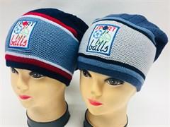 GRANS шапка K281 одинарн.вязка (р.52-54)