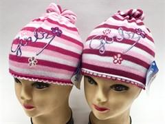 GRANS шапка K 298 одинарная вязка (р.46-48)