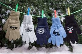 margot перчатки KAFAR одинарная вязка (размер 17)