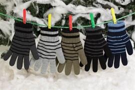 margot перчатки OLAF вязка подклад флис (размер 16)