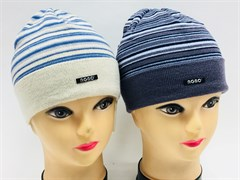 AGBO шапка 988 FIOLEK одинарн.вязка (р.48-52)