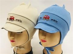 Elo melo  035 шапка одинарн.трикотаж (р.52-54)