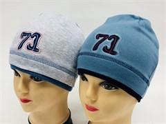 Witmar шапка трикотаж одинарн. (71)(р.50-54)